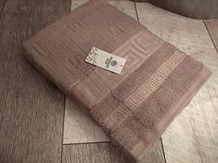 Полотенце банное 70х140 см с логотипом версаче 100% cotton производство Турция