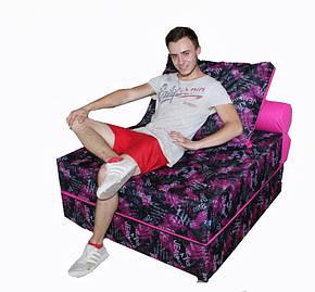 Бескаркасное кресло-кровать 100-100-40 см TIA-SPORT, фото 2