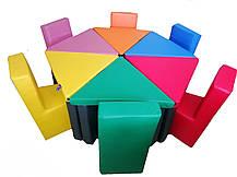 Комплект игровой мебели Цветочек TIA-SPORT, фото 3