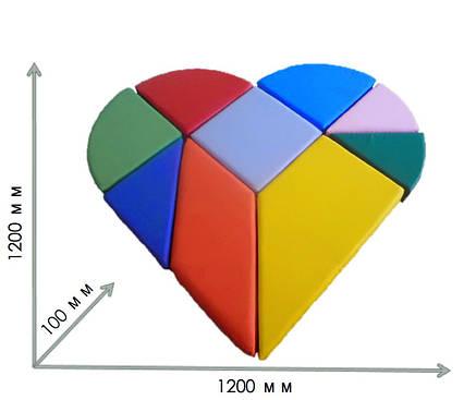Конструктор танграм сердце TIA-SPORT, фото 2