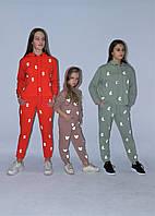 Стильный детский костюм светоотражающий от производителя 104-158р