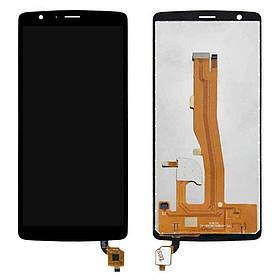 Дисплей (екран) для Blackview A20 з сенсором (тачскріном) черный Оригінал