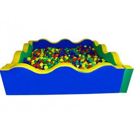 Сухий басейн квадратний Хвиля 200х60 см TIA-SPORT