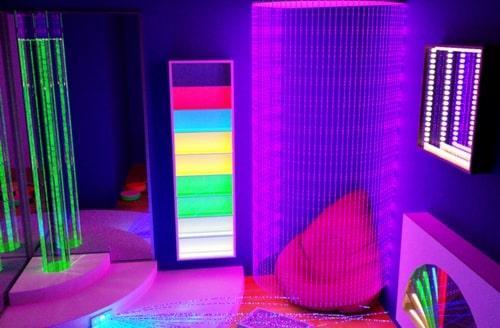 Сенсорная комната Радужная ночь с оборудованием  TIA-SPORT