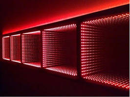 Зеркало с эффектом бесконечность (3D зеркало) для сенсорной комнаты TIA-SPORT