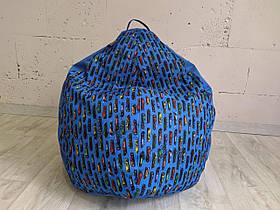 Кресло груша Принт Микс Машинки TIA-SPORT, фото 2
