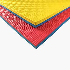 Коврик Ласточкин Хвост желто-синий 25 мм TIA-SPORT, фото 2