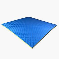 Коврик Ласточкин Хвост желто-синий 25 мм TIA-SPORT, фото 3