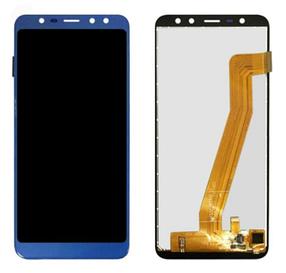 Дисплей (экран) для Leagoo M9 с сенсором (тачскрином) синий