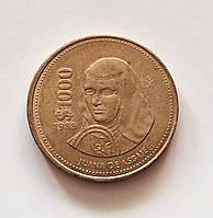 1000 песо Мексика 1989 г., фото 1