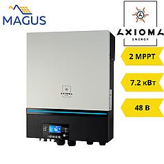 Автономный инвертор Axioma ISMPPT BFP 7200 (7.2 кВт 48В 1 фазный 2MPPT)