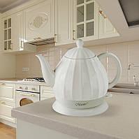 Керамический электрочайник Maestro MR-070 (1,2 л, 1200 Вт) | кухонный электрический чайник Маэстро, Маестро
