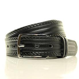 Ремень кожаный Lazar 130-140 см черный L35U1W9-1-B