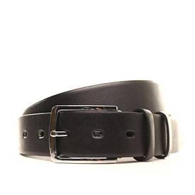 Ремень кожаный Lazar 130-140 см черный l35u1w61-1