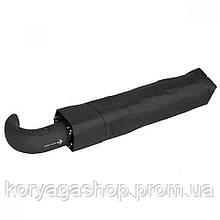 Мужской зонт Zest 10 спиц ручка-крюк полуавтомат 43620 черный
