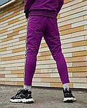 Спортивные штаны Palm Angels Origin фиолетовые, фото 3
