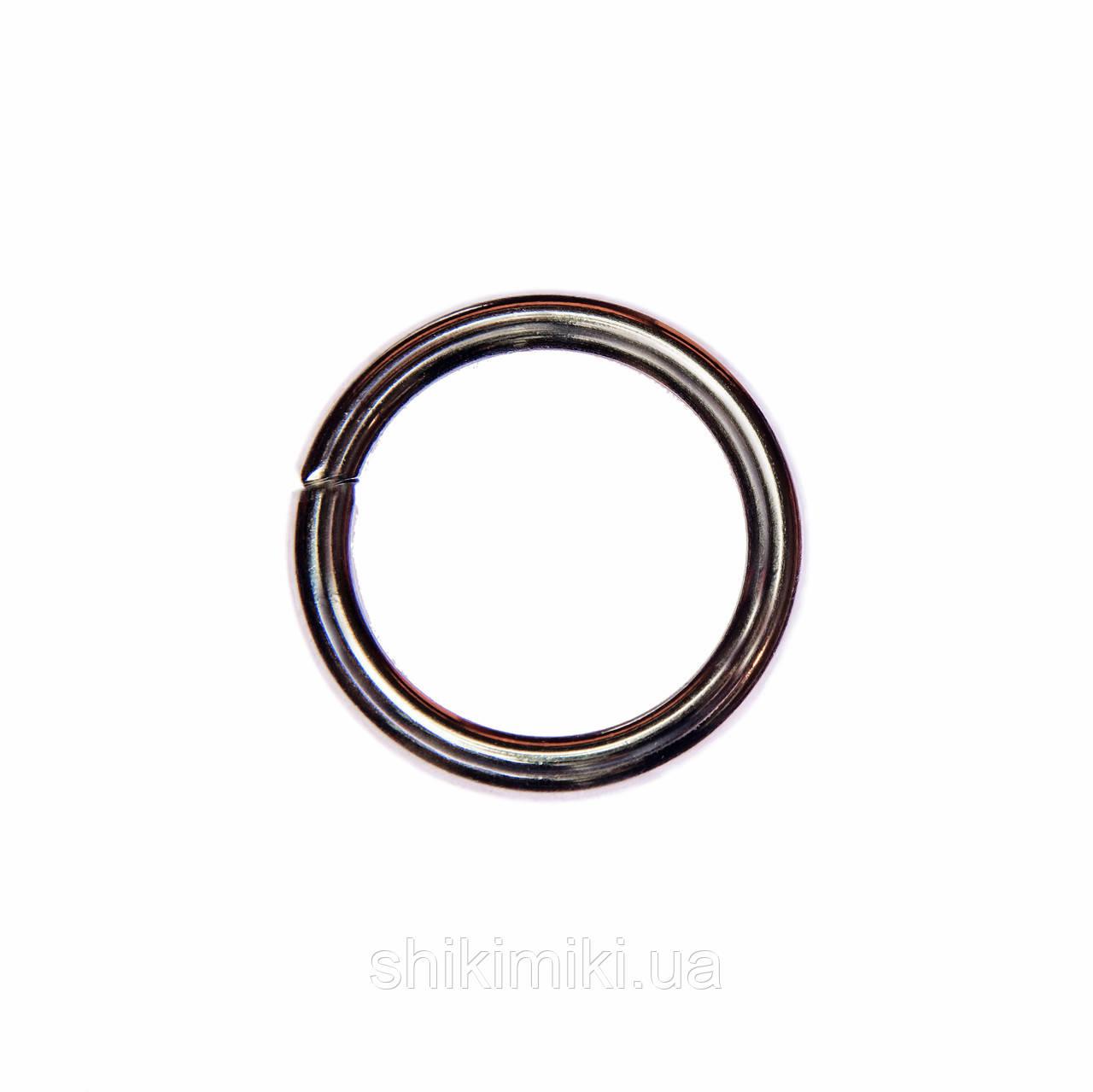 Кольца соединительные KL30-2 (30 мм), цвет темный никель