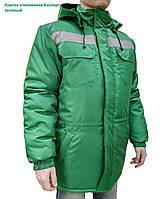 Куртка утеплена FREE WORK Експерт зелений