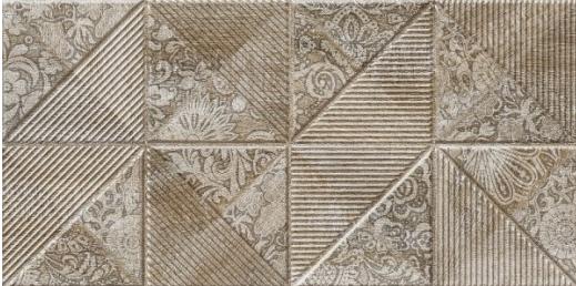 Плитка Березакерамика Астерія 2 коричнева 30*60 декор