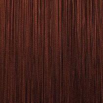 Шторы нити Однотонные, 3х2,85 м Шоколадный