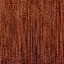 Шторы нити Однотонные, 3х2,85 м Коричневый