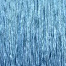 Шторы нити Однотонные, 3х2,85 м Голубой