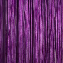 Шторы нити Однотонные, 3х2,85 м Фиолетовый