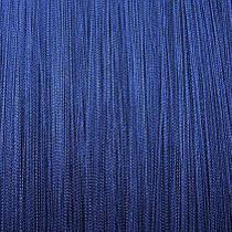 Шторы нити Однотонные, 3х2,85 м Электрик (синий)