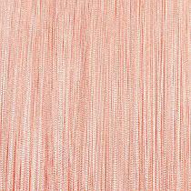 Шторы нити Однотонные, 3х2,85 м Персиковый