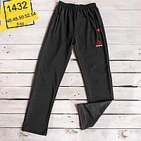 Мужские спортивные штаны прямые двунитка 46-54 норма весна