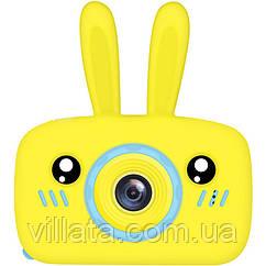 Детский фотоаппарат Baby Photo Camera Rabbit Желтый