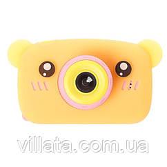 Детский фотоаппарат Baby Photo Camera Bear Оранжевый