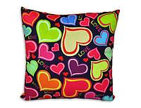 Интерьерная подушка Феерия сердец