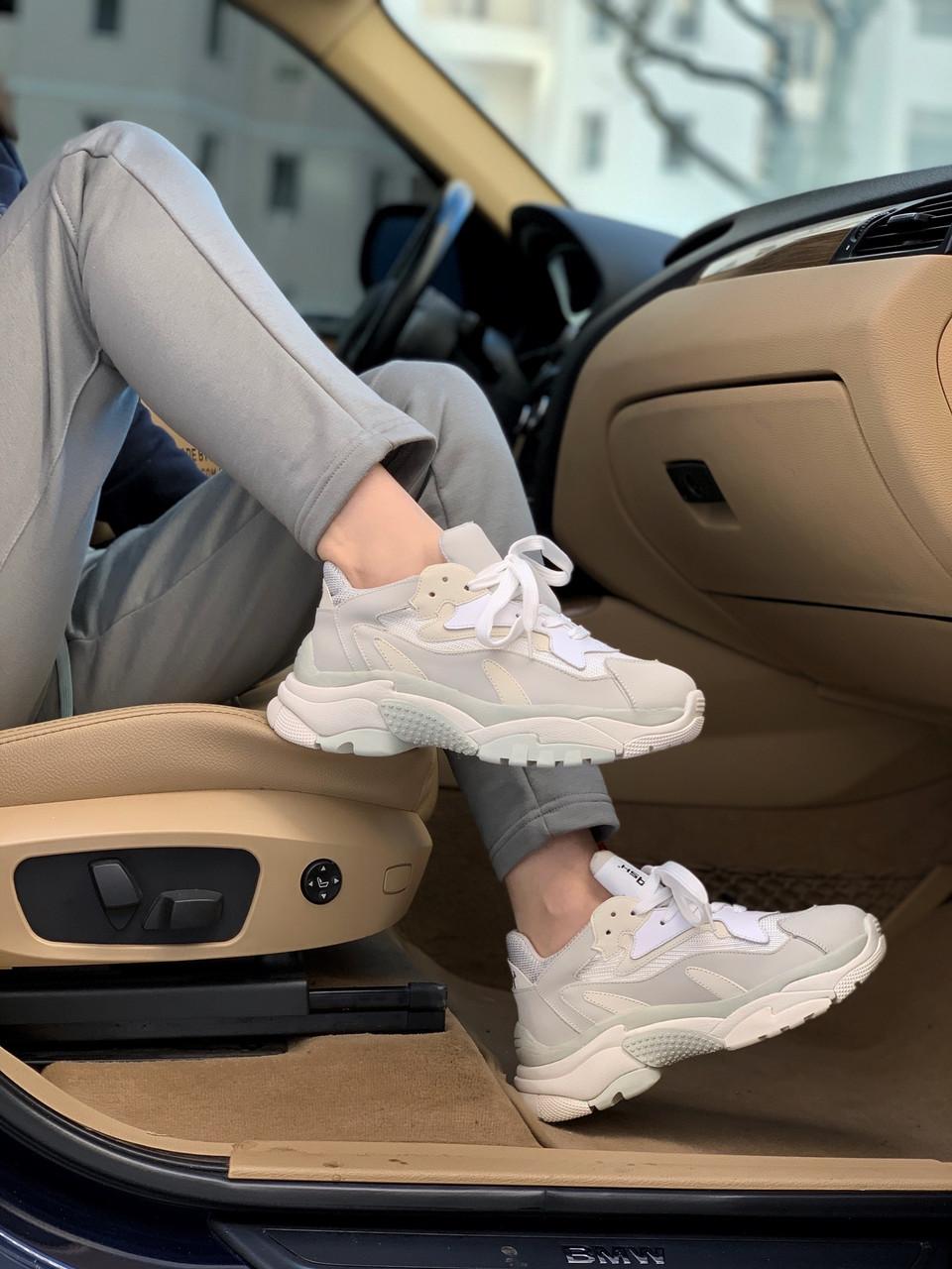Женские кроссовки ASH White