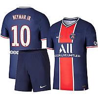 Детская футбольная форма ПСЖ NEYMAR JR 10 домашняя 2020-2021