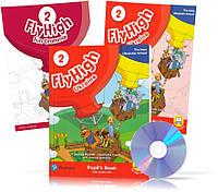 Fly High 2 UKRAINE edition, Pupil's book + Activity Book + CD + FUN GRAMMAR