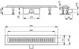 Линейный трап Q-tap Dry FB304-800 с сухим затвором 800 мм (SD00034833_, фото 4