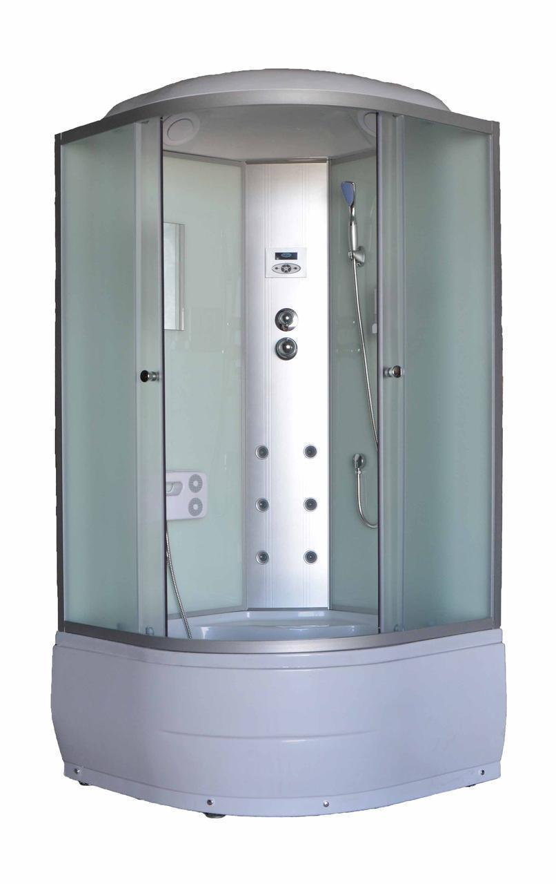 Гидромассажный бокс Sunlight 470R-F 100 сатин 100х100х215 см Белый