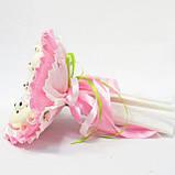 Букет из игрушек Мишки 5 розовый 5288IT, фото 3