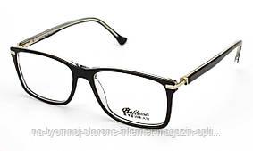 Пластикова оправа для окулярів Bellessa 7892 Чорний