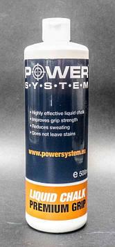 Рідка магнезія Power System PS-4086 LIQUID CHALK 500ML (AS)