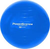 М'яч для фітнесу і гімнастики POWER SYSTEM PS-4018 85 cm Blue (AS)