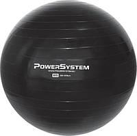 М'яч для фітнесу і гімнастики Power System PS-4018 85cm Black (AS)