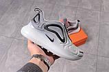 Кросівки жіночі 16134, Nike Air 720, сірі, [ 38 39 40 41 ] р. 38-24,5 див., фото 7