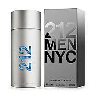 Carolina Herrera 212 Men NYC, мужская туалетная вода, edt 100 мл