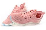 Кросівки жіночі 10425, BaaS Ploa, рожеві, [ 36 37 38 39 40 41 ] р. 36-22,8 див., фото 8