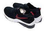 Кроссовки мужские 12554, Nike Air темно-сини, [ 44 ] р. 44-28,0см., фото 8