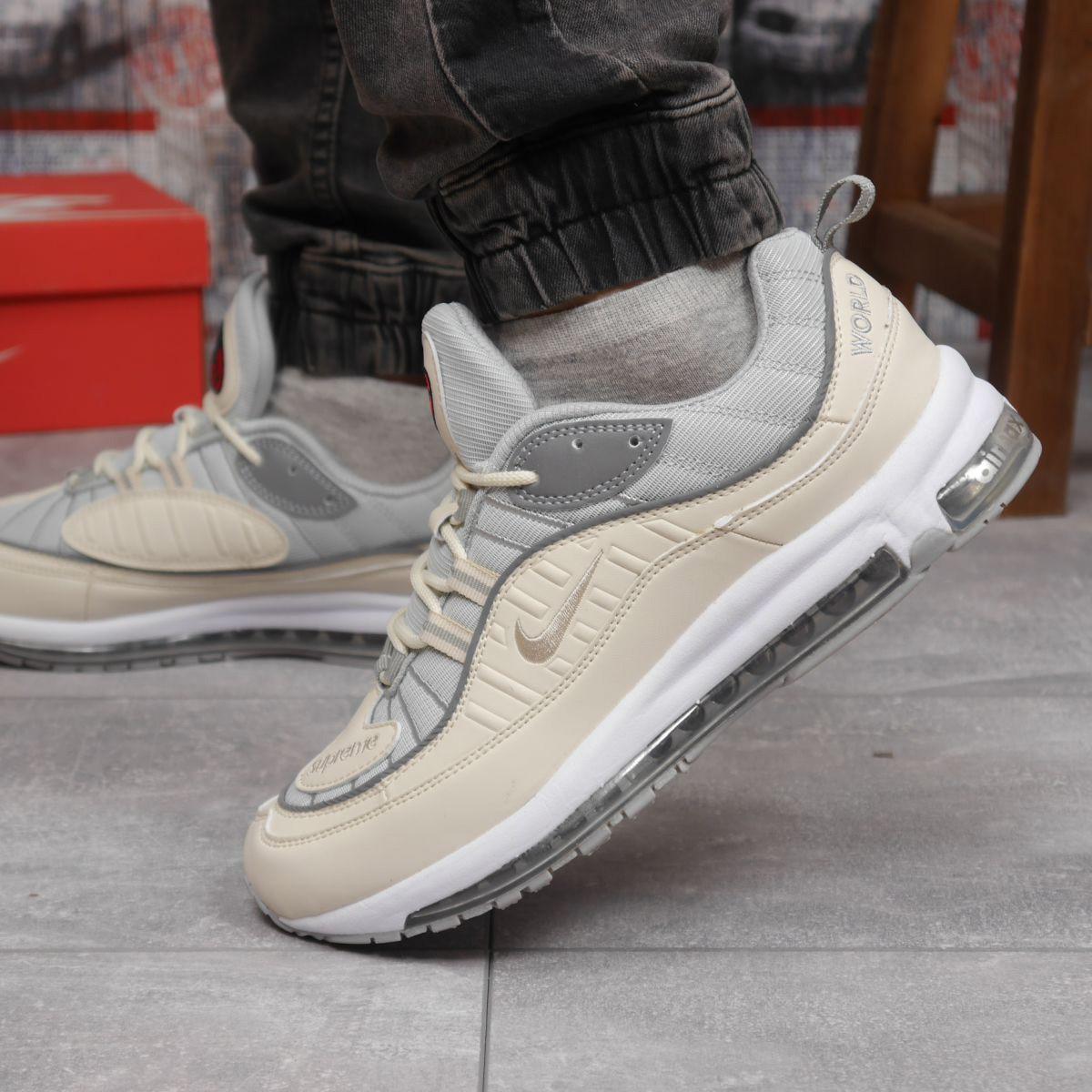Кросівки чоловічі 12675, Nike Aimax Supreme, бежеві, [ 41 43 45 ] р. 45-28,8 див.