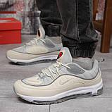 Кросівки чоловічі 12675, Nike Aimax Supreme, бежеві, [ 41 43 45 ] р. 45-28,8 див., фото 2