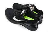 Кросівки чоловічі 12881, Nike Zoom Pegasus 33, чорні, [ 45 ] р. 45-28,2 див., фото 8